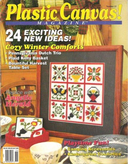 Plastic Canvas Magazine Number 23 Nov/Dec 1992 #2PCSC