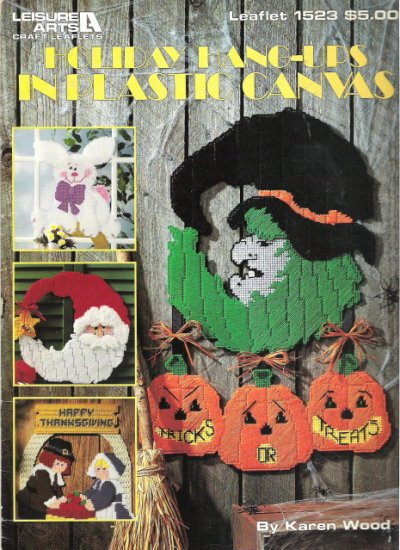 Holiday Hang-ups in Plastic Canvas by Leisure Arts #1PCSC