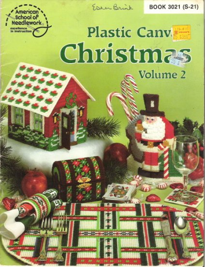 Plastic Canvas Christmas Volume 2 by American School of Needlework