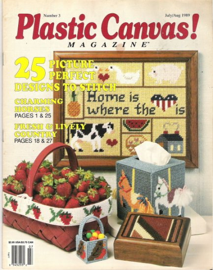 Plastic Canvas Magazine Number 3 July/Aug 1989