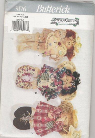 Butterick 3176 Pattern Garden Dolls