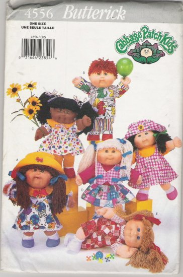 Butterick 4556 Cabbage Patch Kids Clothes