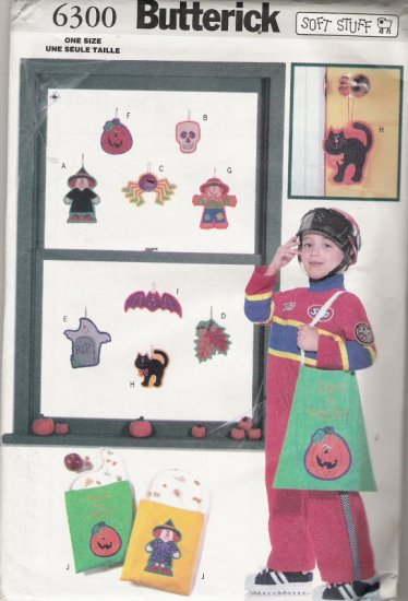 Butterick 6300 Halloween Decorations with Bag