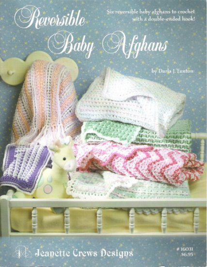 Reversible Baby Afghans #16031
