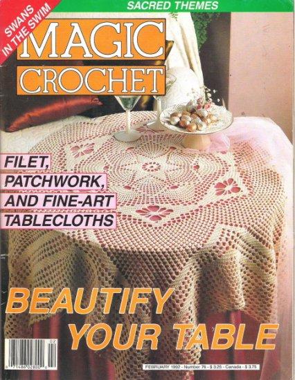 Magic Crochet Magazine February 1992