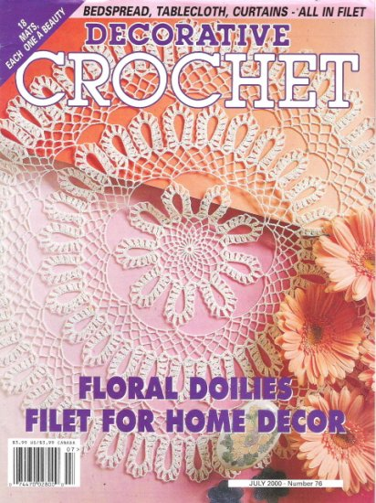Decorative Crochet July 2000 Number 76