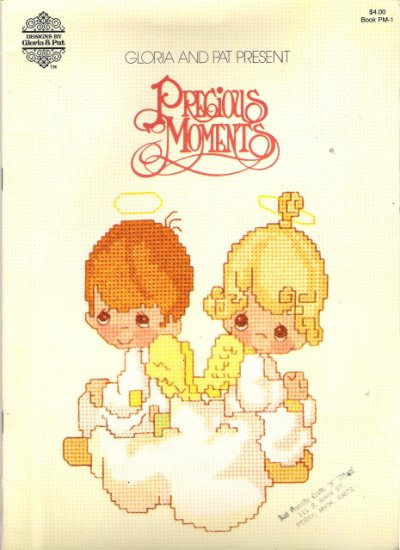 Gloria and Pat Present Precious Moments Cross Stitch Book PM-1