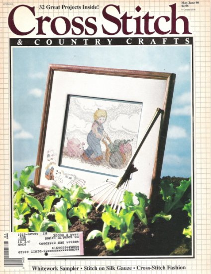 Cross Stitch & Country Crafts Magazine May/June 1990