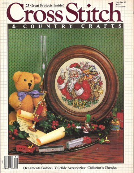Cross Stitch & Country Crafts Magazine November/December 1987