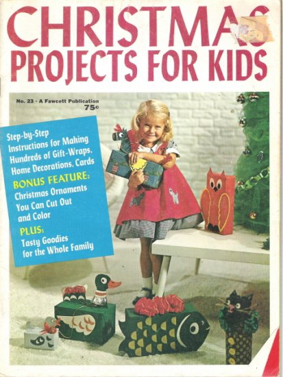 Christmas Projects for Kids Number 23 - Vintage 1971