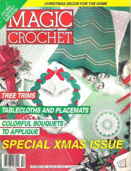 Magic Crochet Magazine October 1992 Number 80