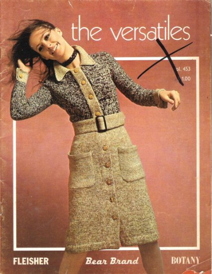 The Versatiles Volume 453 Vintage Craft Book