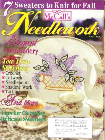 McCall's Needlework Magazine August 1994