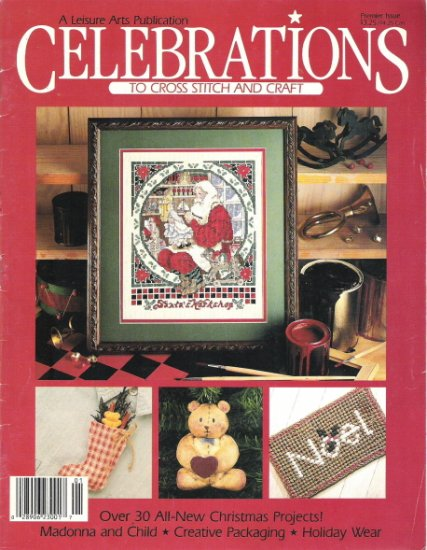 Celebrations to Cross Stitch and Craft Premiere Issue