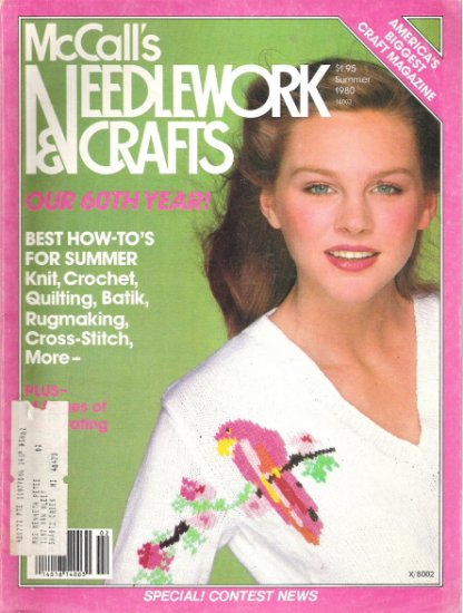 McCall's Needlework and Crafts Magazine Summer 1980