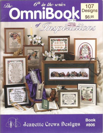 The OmniBook Inspirations 6th in the Series Book 806 - 107 Designs