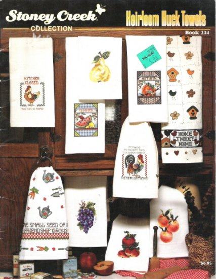 Stoney Creek Collection Heirloom Huck Towels Cross Stitch Book 234