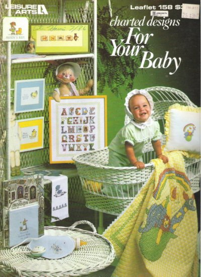 Leisure Arts Leaflet 158 Charted Designs for your Baby