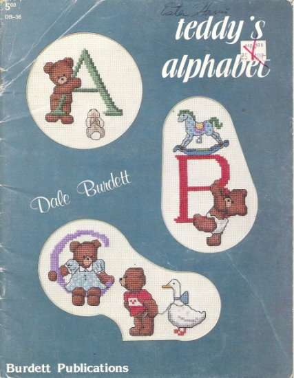 Teddy's Alphabet by Dale Burdett DB-36
