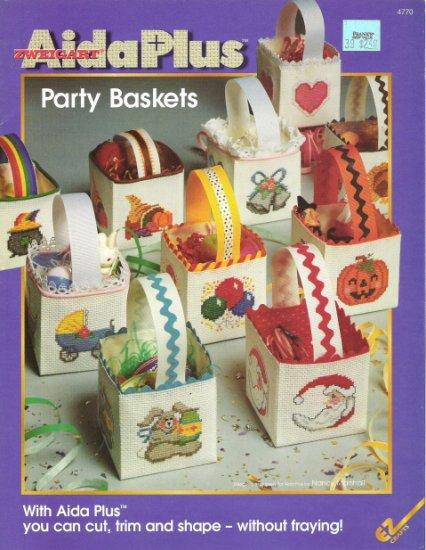Zweigart Aida Plus Party Baskets