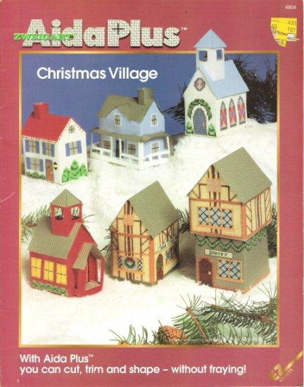 Zweigart Aida Plus Christmas Village