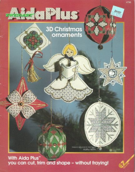 Zweigart Aida Plus 3D Christmas Ornaments