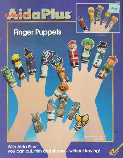 Zweigart Aida Plus 3D Finger Puppets