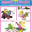 McCall's Number 15 146 Just Cross Stitch Muppets in Stitches Seasons of Love