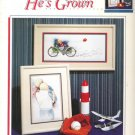 Susan Blackwood's Turn Around and He's Grown Counted Cross Stitch
