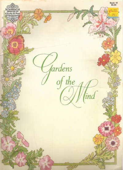 Gardens of the Mind Cross Stitch Book 19
