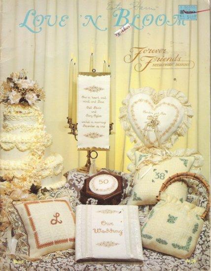 Love 'N Bloom Forever Friends Needlework Desings Craft Book 7