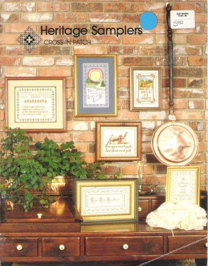 Heritage Samplers Cross Stitch Book