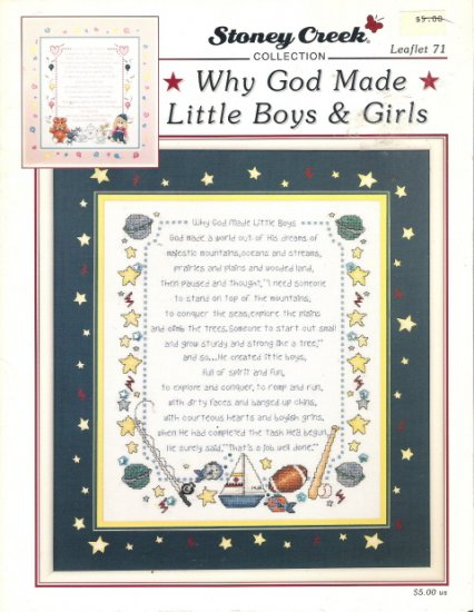 Why God Made Little Boys & Girls Leaflet 71 by Stoney Creek Collection