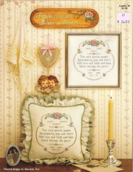 Anniversaries Silver and Golden Leaflet 38