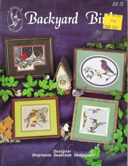 Backyard Birds Designed by Stephanie Hedgepath