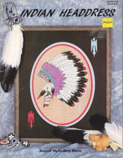 Indian Headdress Leaflet 339