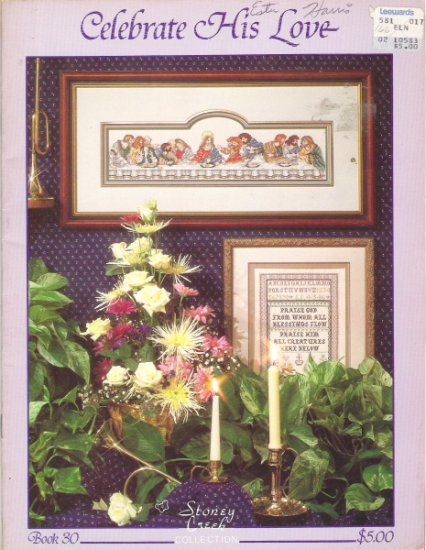 Celebrate His Love Cross Stitch Book 30