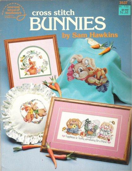 Cross Stitch Bunnies #3537 by Sam Hawkins