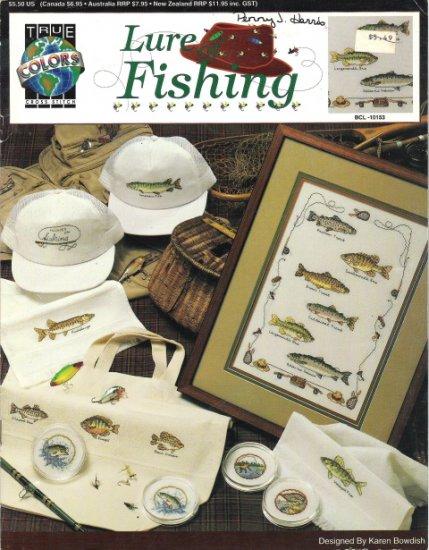 Lure of Fishing Cross Stitch Book BCL-10153