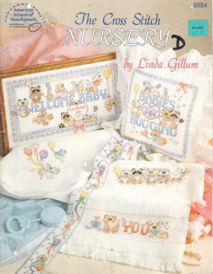 American School of Needlework #3554 The Cross Stitch Nursery