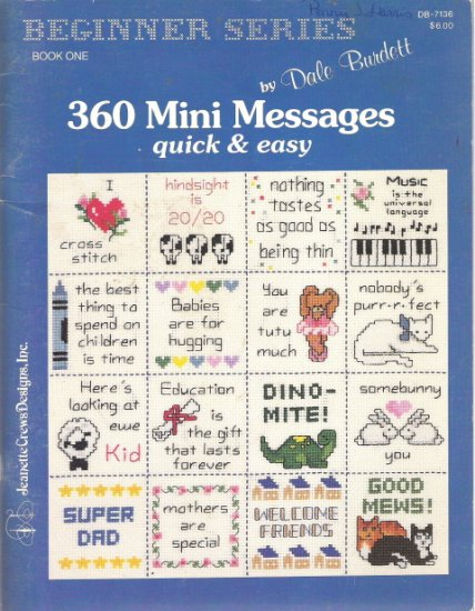Beginners Series Book One 360 Mini Messages