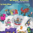 American School of Needlework #3636 Cross Stitch Dino-Wear by Linda Giffum