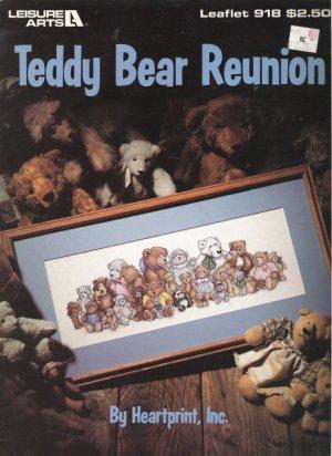 Leisure Arts Leaflet #918 Teddy Bear Reunion by Heartprint, Inc