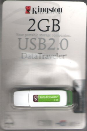 Kingston 2GB Your Portable Storage Companion USB 2.0 Datatraveler