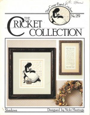 """The Cross-Eyed Cricket No 29 """"Shadows"""" designed by Vicki Hastings"""