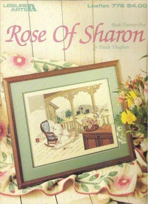 Leisure Arts Leaflet 776 Rose of Sharon by Paula Vaughan Book Twenty-Five