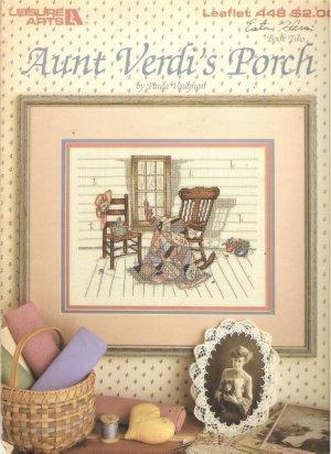 Leisure Arts Leaflet 448 Aunt Verdi's Porch designed by Paula Vaughan Book Two