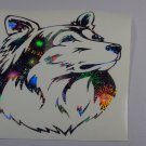 Shetland Sheepdog Sheltie Shelties Dog Holographic Fireworks Car Window Laptop Decal
