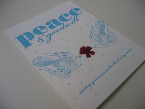 Peace & Goodwill Dove