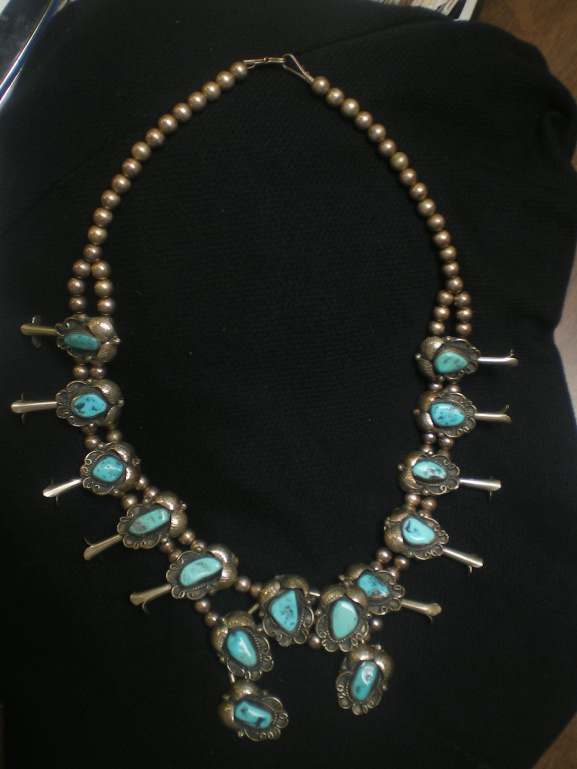 Sterling and Turquoise Necklace